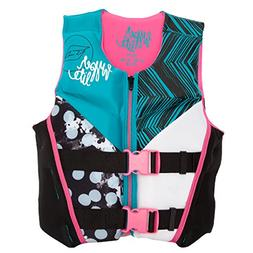 Hyperlite Girls Youth Indy Vest USCGA -Youth Large