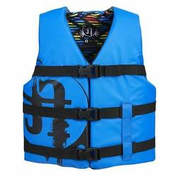 Full Throttle Youth Life Jacket Nylon-Blue 112200-500-002-19