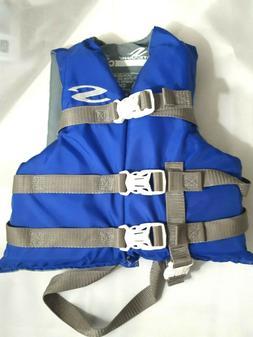 Stearns Youth Life Jacket Ski Vest 30 - 50 Ibs Blue Gray USC