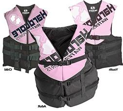 Hardcore Water Sports Youth Life Jacket Vest - US Coast Guar