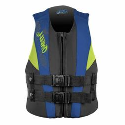 O'Neill Youth Reactor USCG Life Vest, Black/Pink/Turqouise,